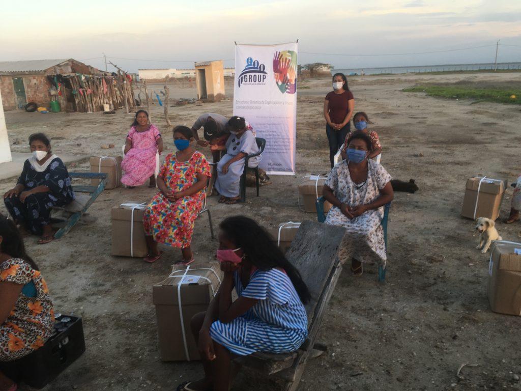 Action de Edo Group avec la communauté Wayuu en Colombie