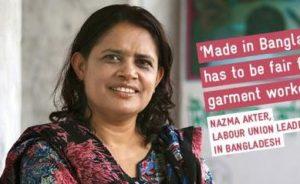 Nazma Akter, Founder of Awaj