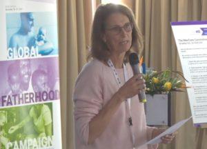 Anne-Claire de Liedekerke at 019 MenCare Global Meeting